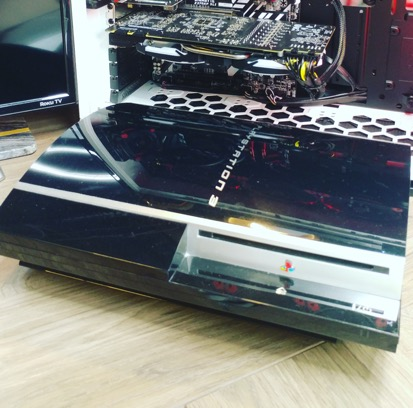 playstation 3 found in a dumpster