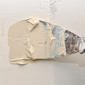 patching a hole in drywall
