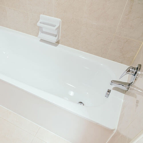 newly resurfaced bathtub