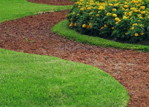 winding landscaping