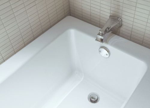 resurfaced bathtub